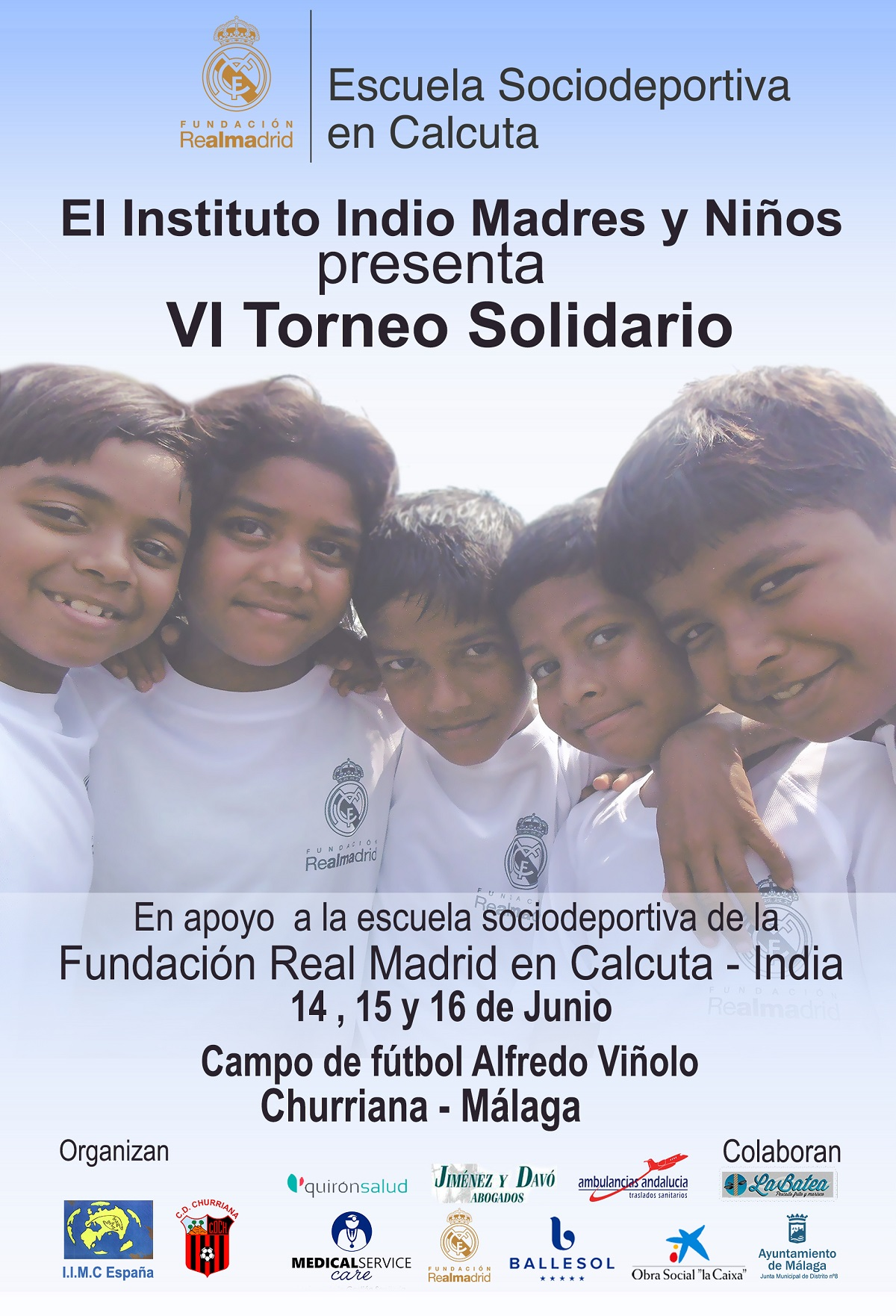 El VI Torneo de Fútbol Solidario en Churriana